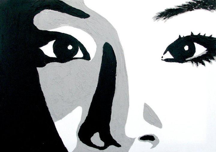LUCY - Acrylique - 2010 - PLus dispo