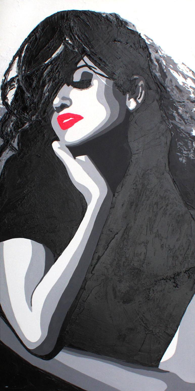 PENELOPPE - 50x100cm - Acrylique - 2011