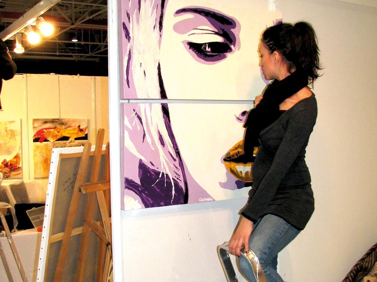 Carmenly | Artiste Peintre | ART METZ 2009